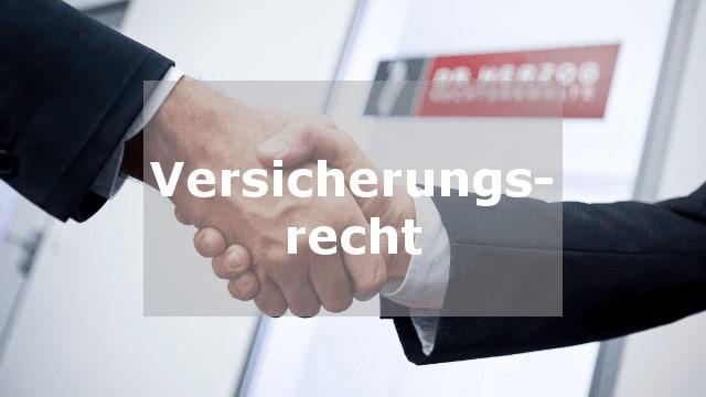 Versicherungsrecht Rechtsanwalt Rosenheim