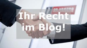 Blog Rechtsanwalt Rosenheim