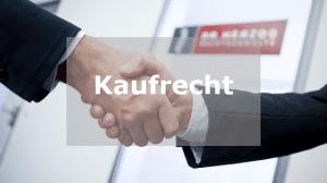 Kaufrecht Rechtsanwalt Rosenheim