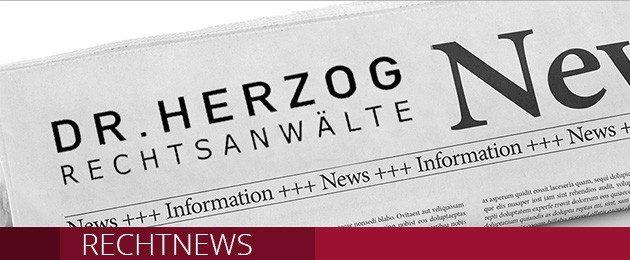 Rechtnews Header Rechtsanwälte Herzog Rosenheim