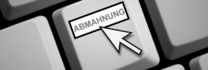 Abmahnung Taste - Recht Rosenheim Anwalt