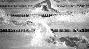Schwimmer im Wettkampf, Wettbewerbsrecht Rosenheim