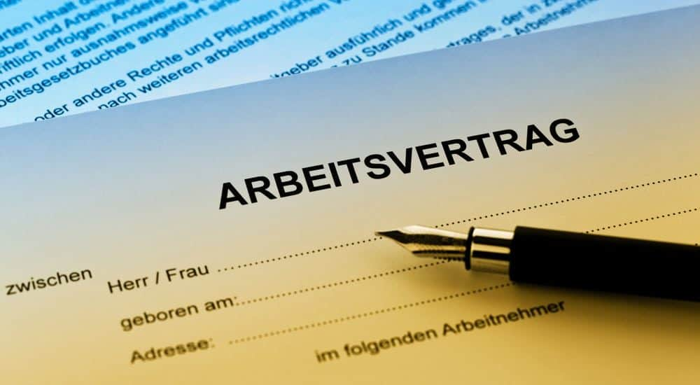 Arbeitsvertrag Rechtsanwalt Rosenheim
