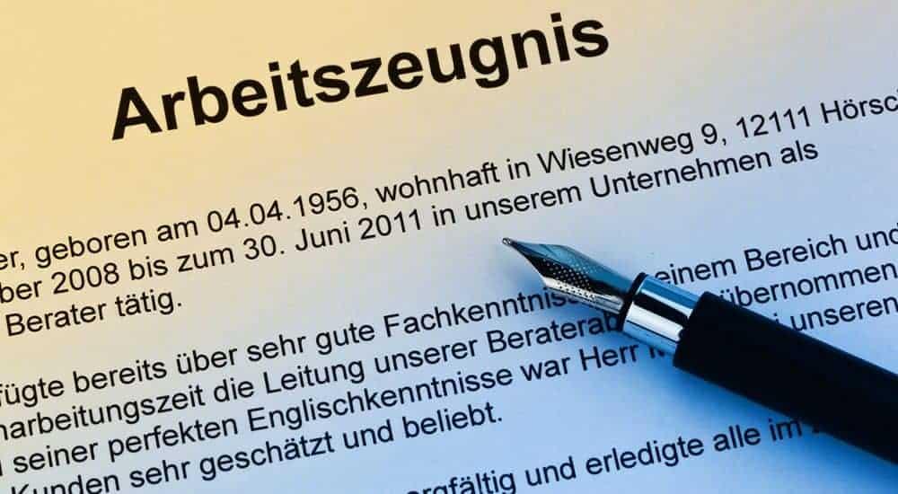 Arbeitszeugnis Rechtsanwalt Rosenheim