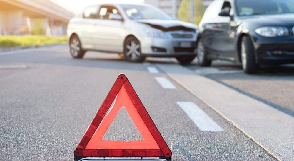 Unfall mit Warndreieck Rechtsanwalt Rosenheim